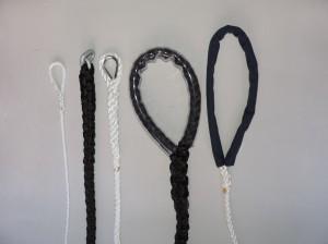 Costura dos cabos
